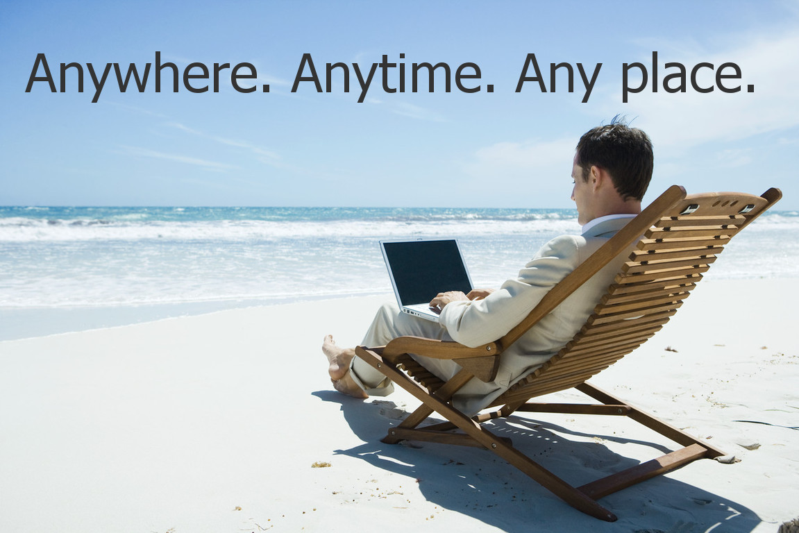 work from anywhere with exp